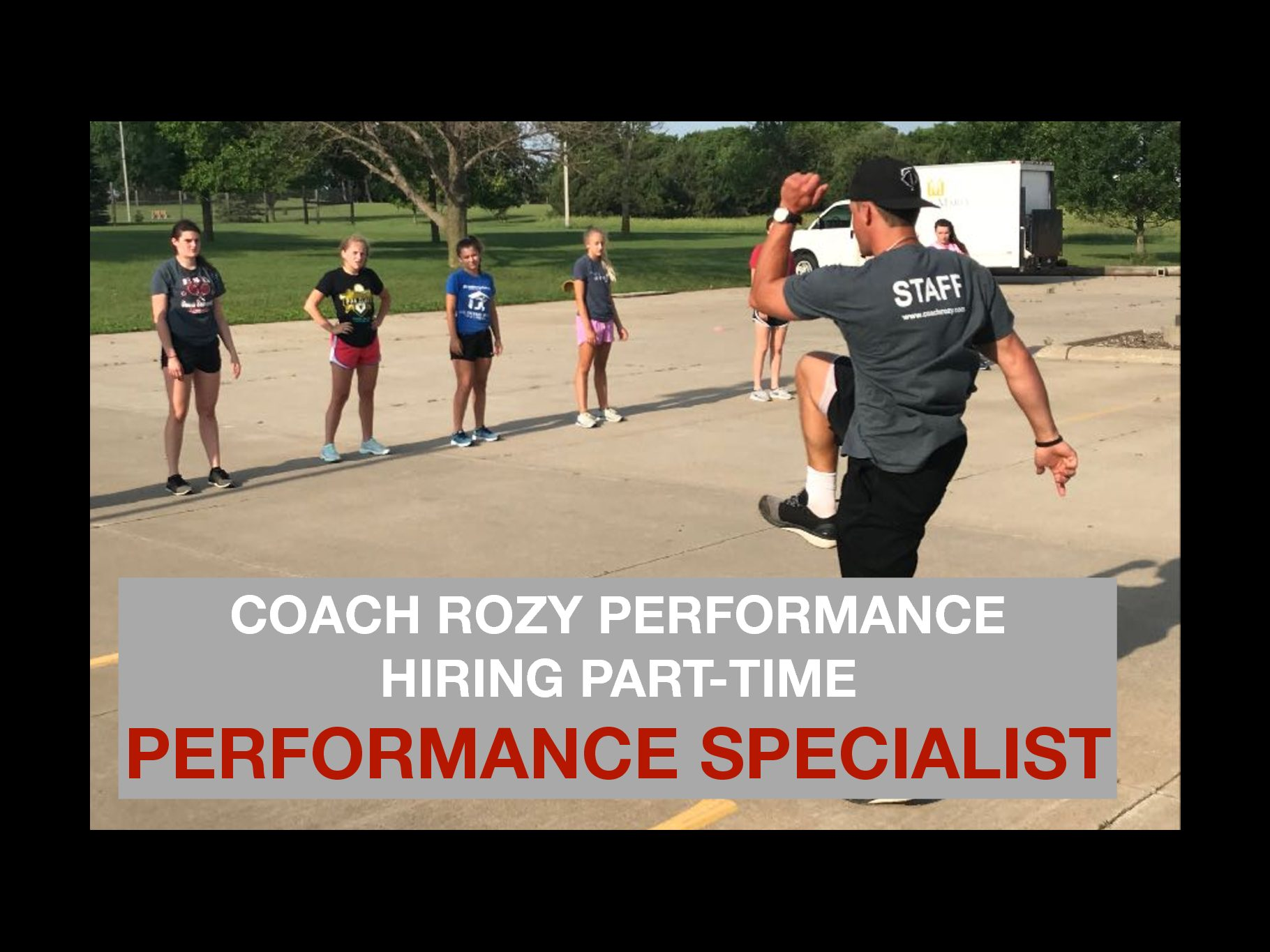 HIRING PART-TIME PERFORMANCE SPECIALIST