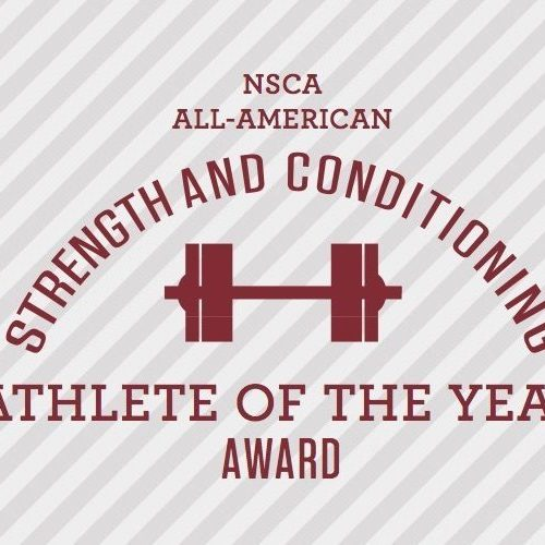 National Strength & Conditioning Association All-Americans selected from Coach Rozy Performance Athletes