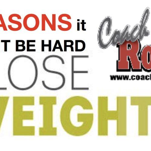 REASONS WEIGHT LOSS MIGHT BE TOUGH